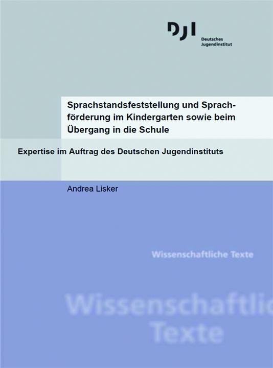 Sprachstandsfeststellung und Sprach- förderung im Kindergarten ...